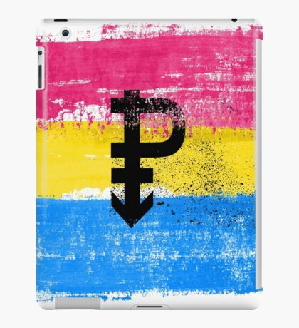 Pansexual Pride Art iPad Case/Skin