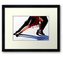Red Tango Framed Print