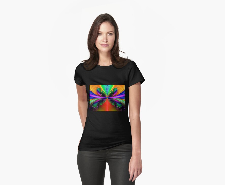 Rainbow Butterfly by DigitalDelights
