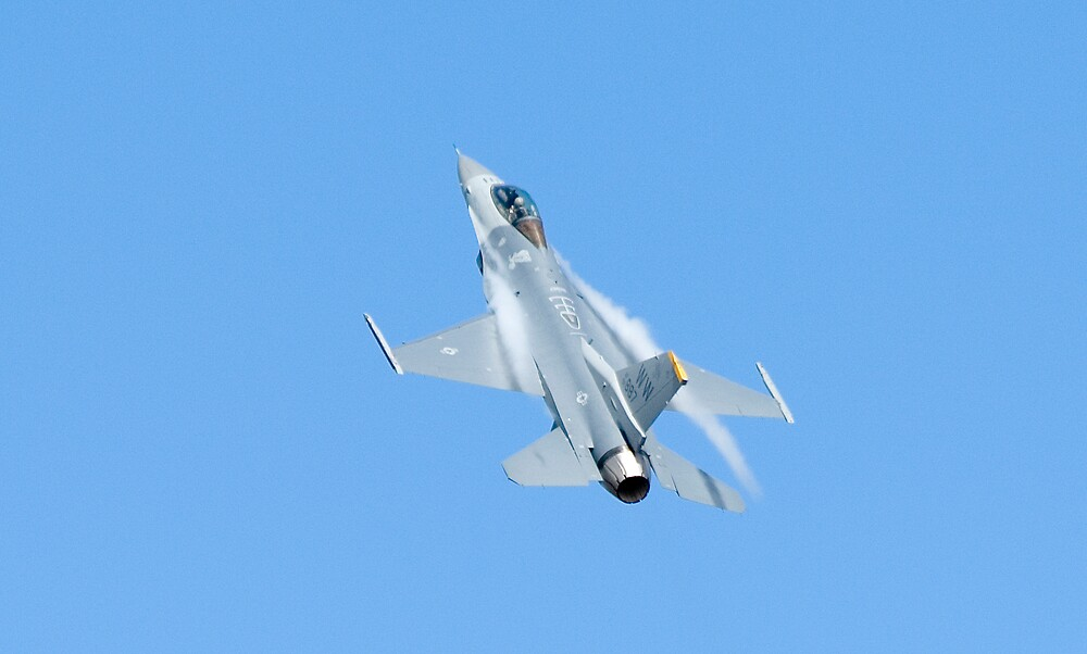 USAF F16 by Nathan T