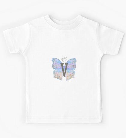 Bewildering Butterfly - Flying V Kids Tee