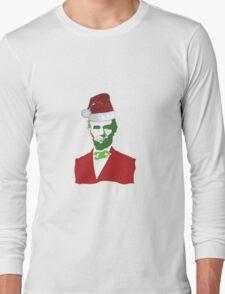 Merry Christmas, Abe! Long Sleeve T-Shirt
