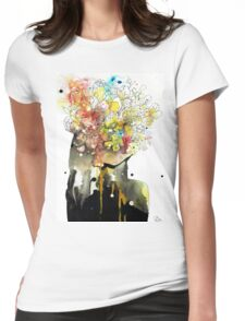 the mind of an introvert Womens Fitted T-Shirt