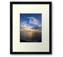 San Francisco Sunset 149 Framed Print