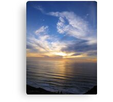 San Francisco Sunset 149 Canvas Print