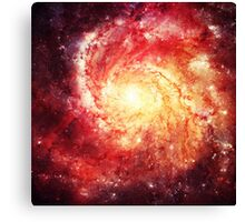 Deep Space Galaxy (Messier 101 Remix) Canvas Print