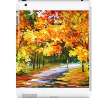 THE PATH OF SUN BEAMS - Leonid Afremov Landscape iPad Case/Skin