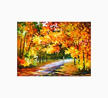 THE PATH OF SUN BEAMS - Leonid Afremov Landscape Unisex T-Shirt