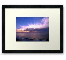 San Francisco Sunset 1410 Framed Print