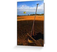 Lightning Ridge Golf Course Greeting Card