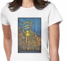 Vincent van Quack! Womens Fitted T-Shirt