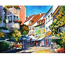 Sunny Germany - Leonid Afremov Photographic Print
