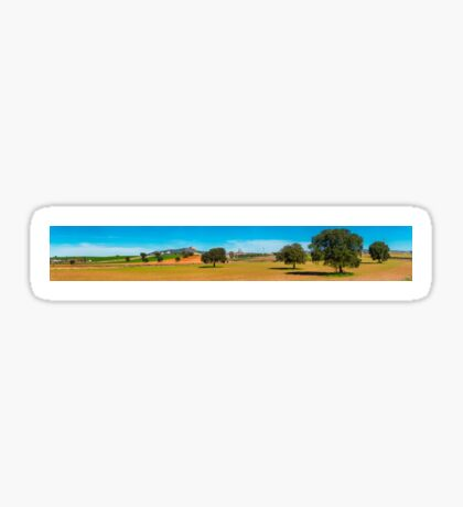 Andalucian countryside panorama Sticker