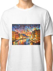 VENICE - GRAND CANAL - Leonid Afremov CITYSCAPE Classic T-Shirt