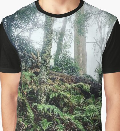 Drawing Room Ferns - BERRY NSW Graphic T-Shirt