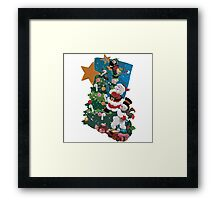 Hang it On the Mantle! Framed Print