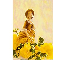 """Sandra"" Poreclain - Royal Doulton Figurine Still Life Photographic Print"