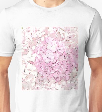 Seeing the Beauty of the Hydrangea Petals Unisex T-Shirt