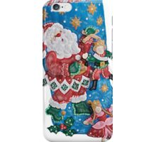 Santa's the Master Puppeteer iPhone Case/Skin