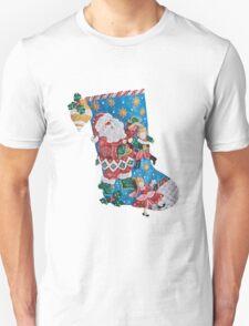Santa's the Master Puppeteer Unisex T-Shirt