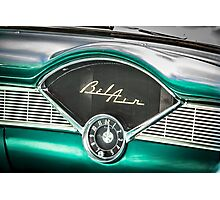 Old Chevy Dash Photographic Print