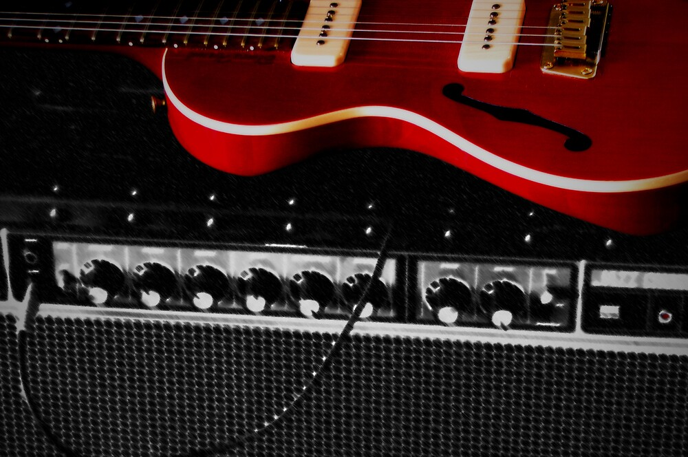 Moe's Guitar by Maximillian Wasinger