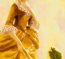 """Sandra"" Poreclain - Royal Doulton Figurine Still Life Sticker"