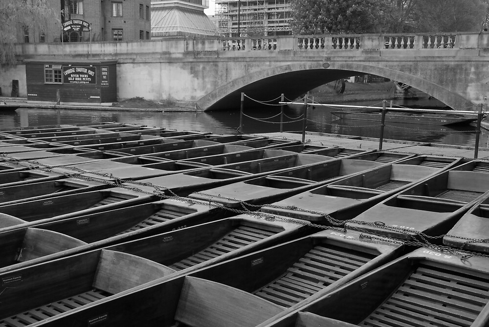 Punts on the River Cam by chriso