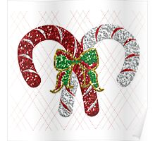 Battle of the Candy Canes Poster