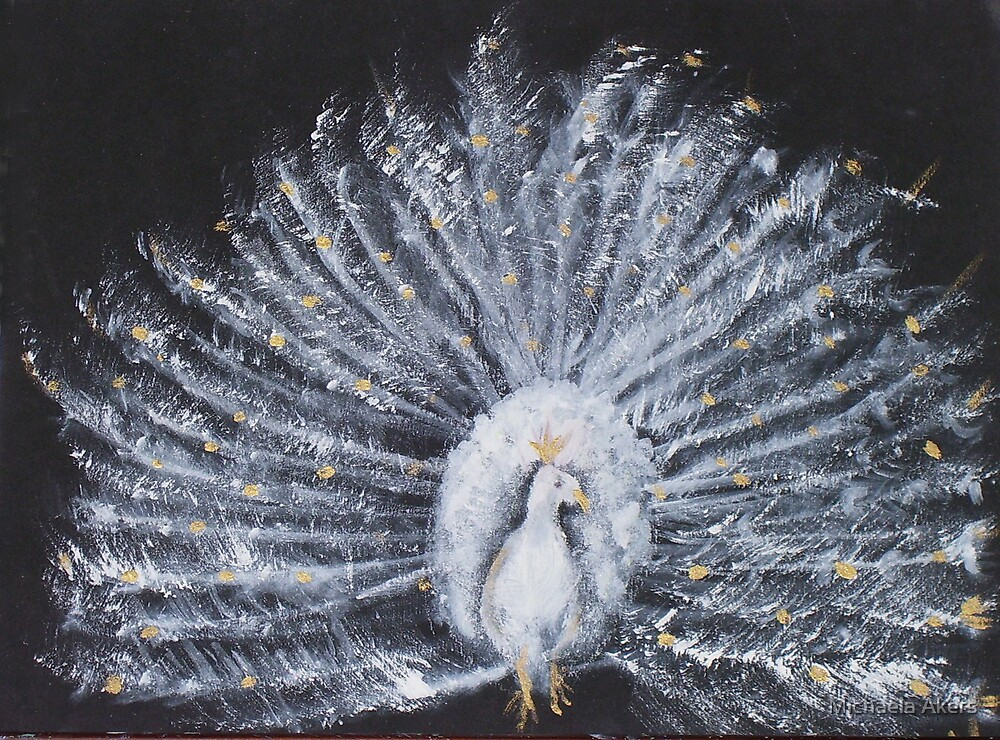 White Peacock by Michaela Akers