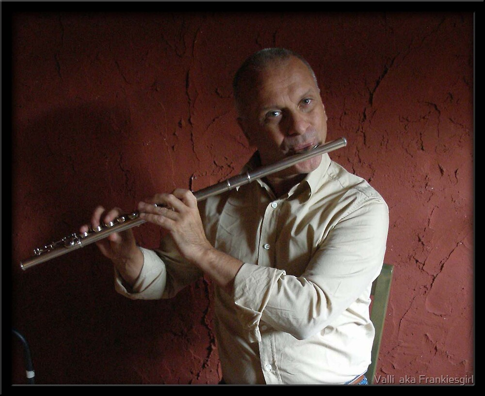Flautist by Valli  aka Frankiesgirl