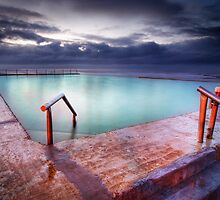 Mona Vale Pool by Brent Pearson