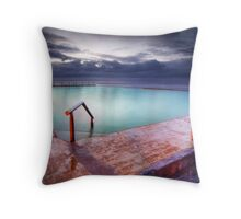 Mona Vale Pool Throw Pillow