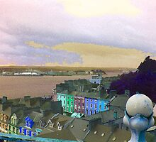 Cobh, Final Port Of Call For The Titanic boat ship  by Elizabeth Wood