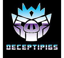 Deceptipigs Photographic Print