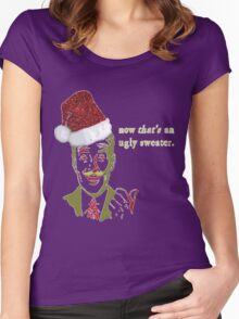 Now THAT'S an Ugly Sweater Women's Fitted Scoop T-Shirt