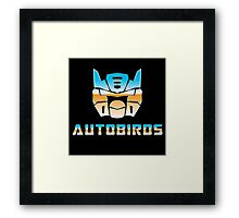 Autobirds Framed Print