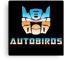 Autobirds Canvas Print