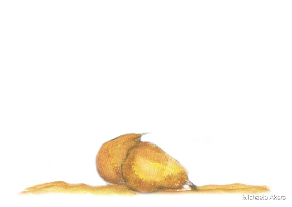 Anjou Pears by Michaela Akers