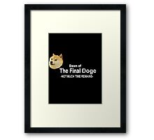 Dawn of the Final Doge Framed Print