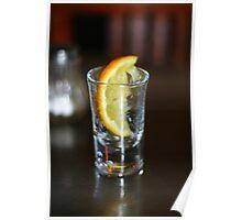 Tequila, Lemon and Salt Poster