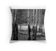 Enduring Aspens Throw Pillow