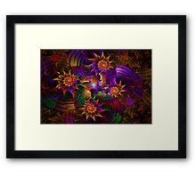After the Glitter Fades Framed Print
