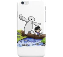 Hiro and Baymax iPhone Case/Skin