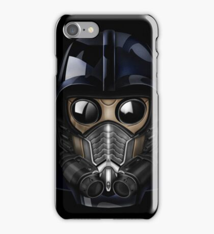 Gas Mask Japanese Shogun Style iPhone Case/Skin