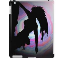 climbing in another world iPad Case/Skin