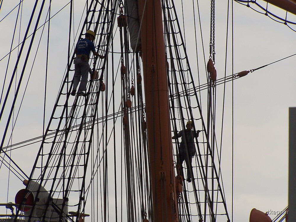 Sailing Ship Nippon Maru 506 by tkepner
