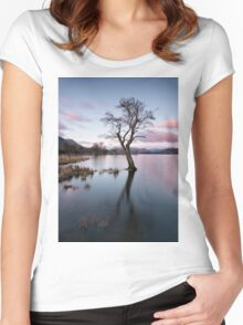 Gale Bay Lone Tree Women's Fitted Scoop T-Shirt