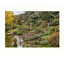 Hakone Gardens Art Print