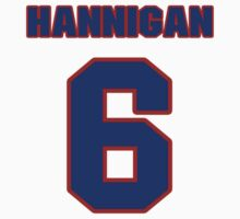 National Hockey player Pat Hannigan jersey 6 by imsport